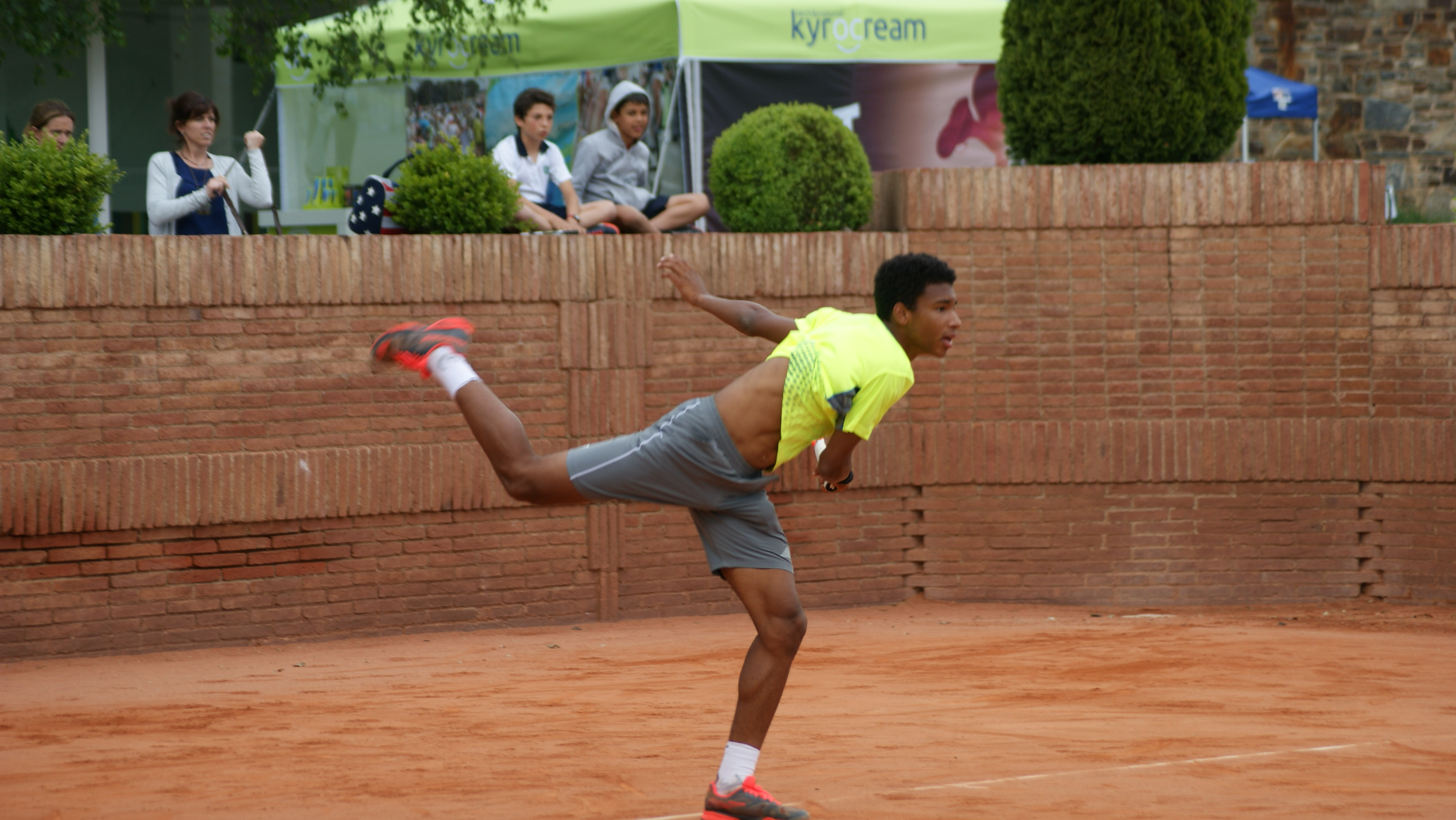 Kyrocream at the ITF Men's Circuit