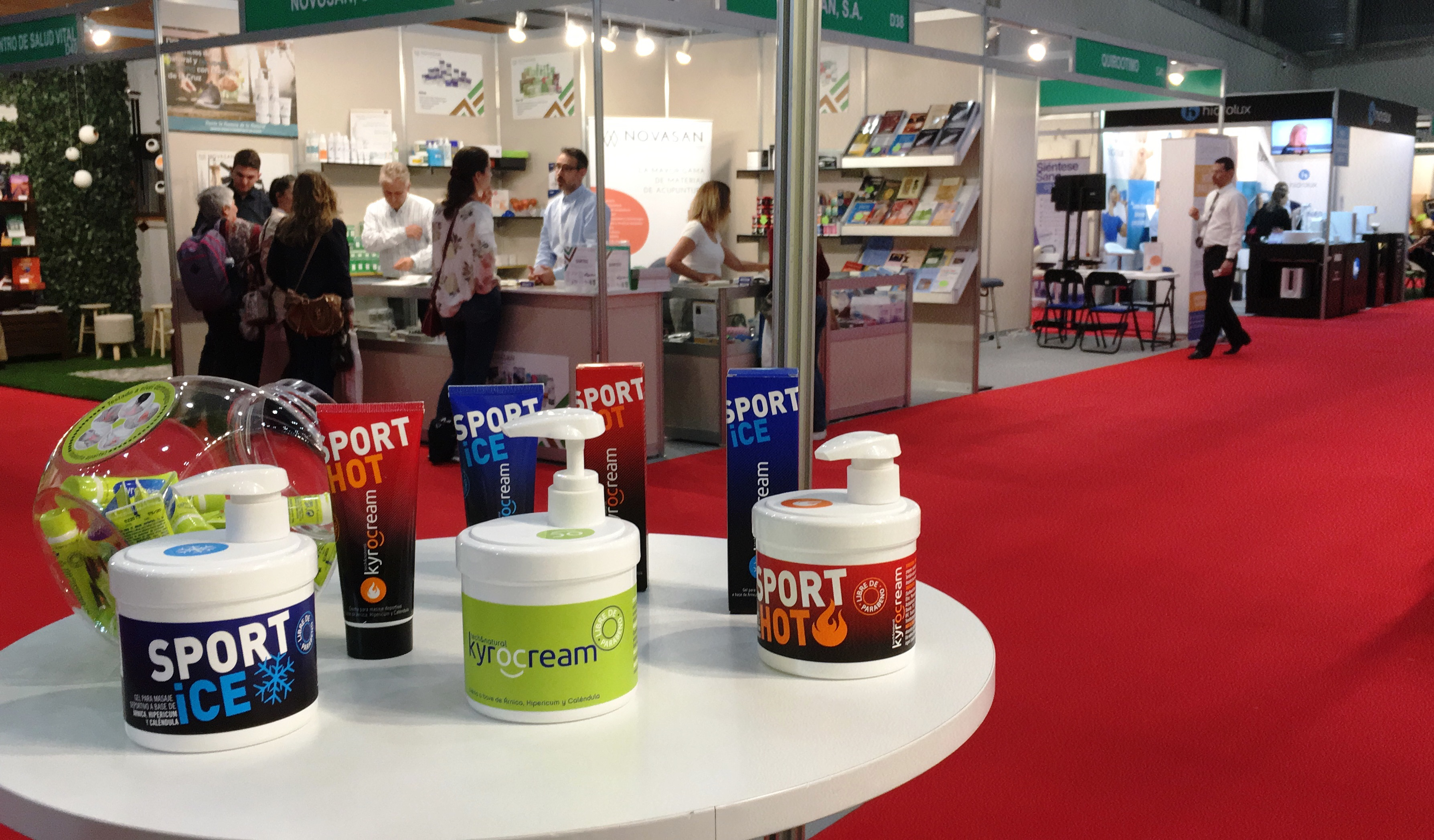 Kyrocream en Expo Eco Salud Madrid 2018