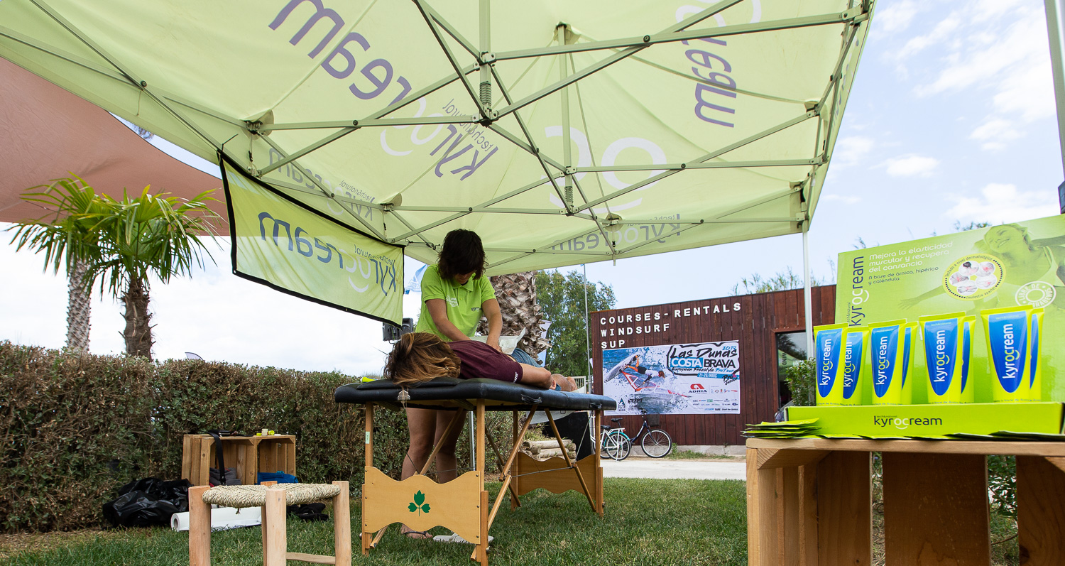 Kyrocream en el Circuito Europeo de Windsurf FreeStyle EFPT Pro Tour celebrado en la Costa Brava