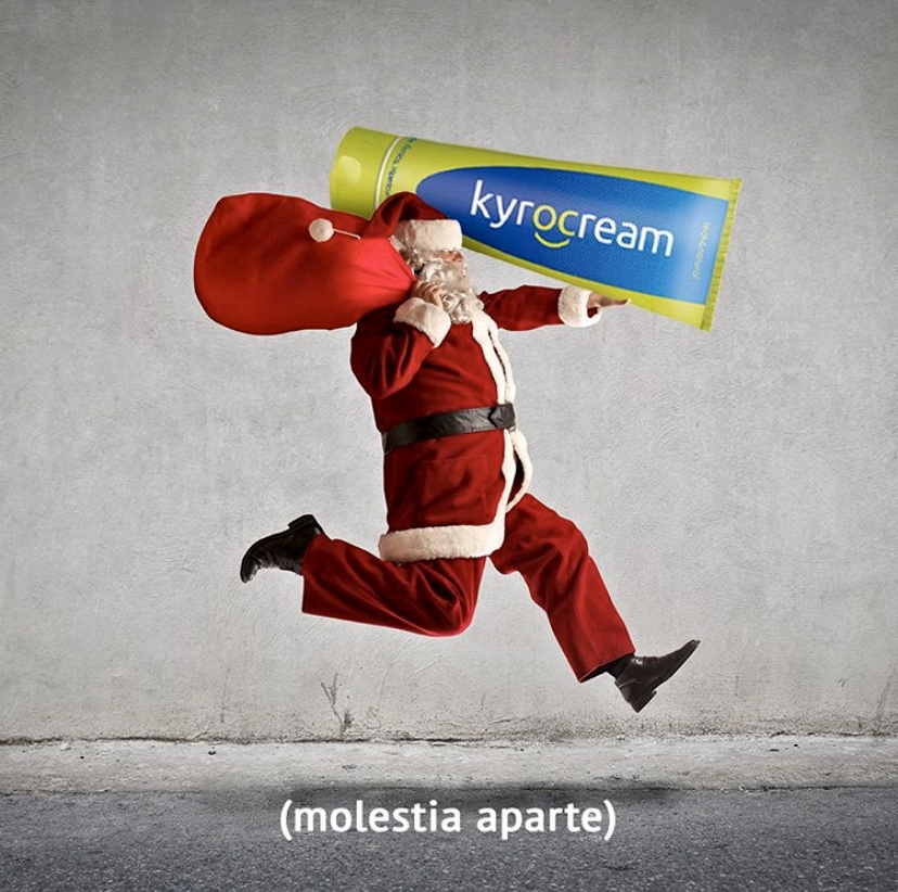 ¡Felices Fiestas con Kyrocream!