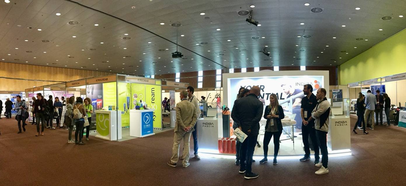 Kyrocream at the first International Congress in Physiotherapy